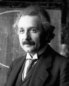 Albert Einstein (1879-1955) theoretical physicist, philosopher and author