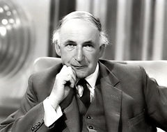 Sir Alfred Charles Bernard Lovell (1913- ) English physicist and radio astronomer