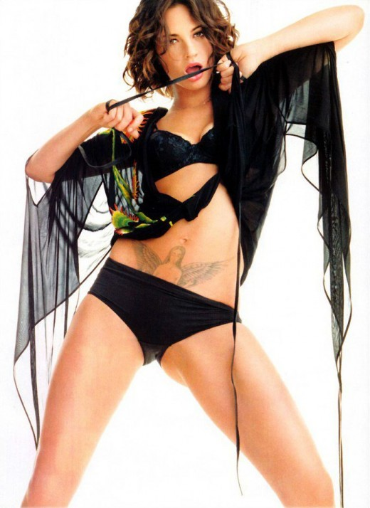 Asia Argento And Her Freaky Tattoo