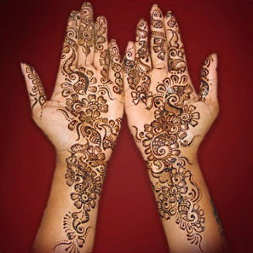 How to apply mehandi, Seekyt