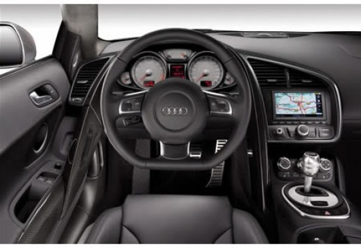 Driving position is superb in the R8.The seats are supportive yet soft, almost wrapping around you. The seating comfort is just superb, with good lumber support. The position and seat height very good. Side support is excellent allowing you to pull s