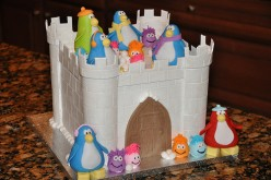 Club Penguin Ice Castle Cake