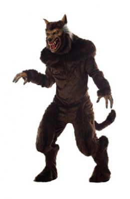 Werewolf Costume Available in Standard & Extra Large Sizes