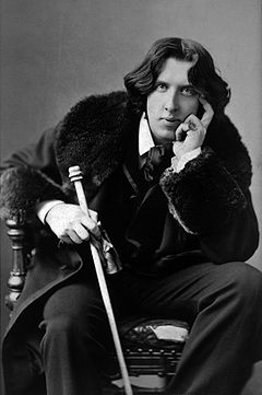 Irish Poet Oscar Wilde  photo courtesy of wikipedia