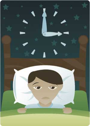 Insomnia is when many of us feel, very alone, and the clock is there to remind us about how much sleep we are not getting.