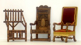 Miniature furniture collection