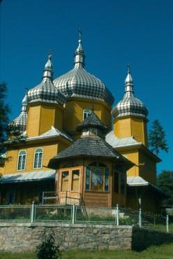 Village church, Vorokhta, Ukraine.