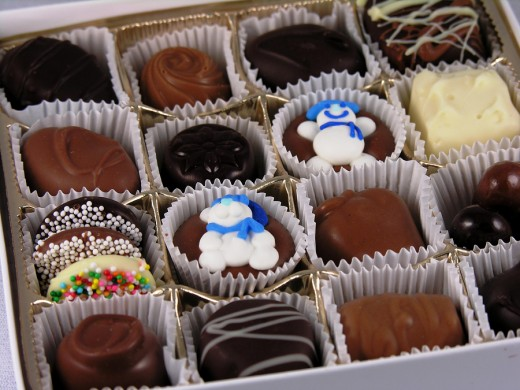 Beware of chocolates that are made with a sugar substitute!