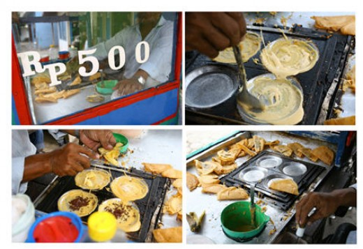 Jakarta food street vendor http://pondok-riwana.blogspot.com