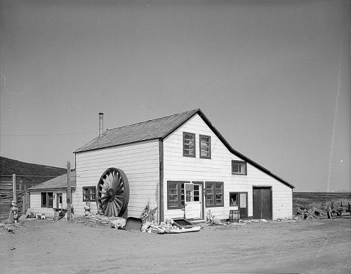Junior mushers may spend an overnight in a roadhouse similar to this one: the Cape Nome Roadhouse on the Nome-Council Highway near Nome, Alaska.