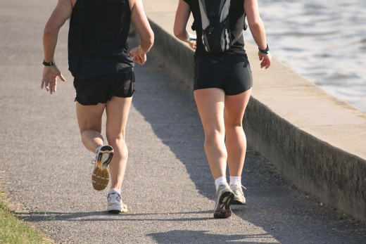 Grab a friend and go for a run!