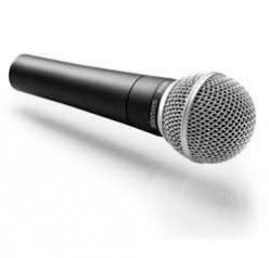 Dynamic mic, This is the type I use, a dynamic uni-directional mic
