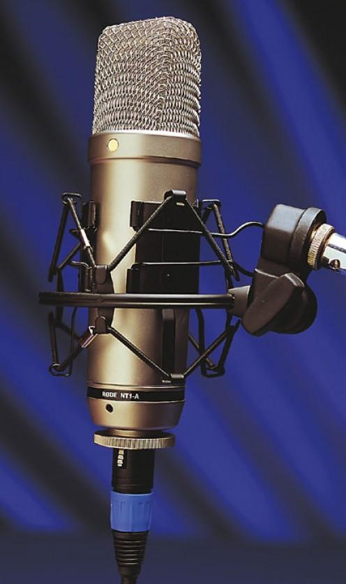 Condenser or capacitor mic