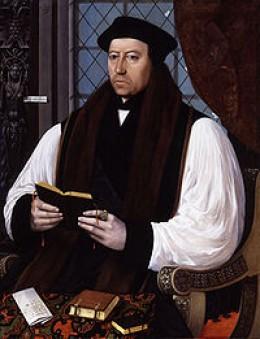 Thomas Cranmer by Gerlach Flicke