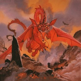The unnamed dragon defeated Beowulf