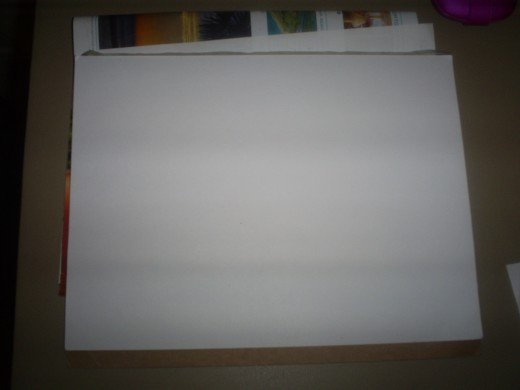 Start with a blank piece of paper