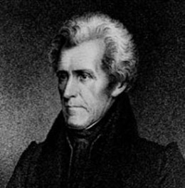 President Andrew Jackson, champion of the U.S. claim on Texas from the Lousiana Purchase