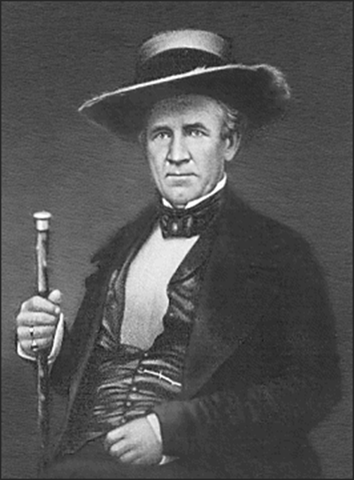 Texas President Sam Houston, champion of Texas interests