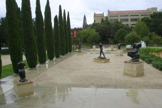 Sculpture Garden, Leland Stanford, Jr. Museum   deedsphtoto