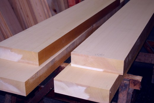 planks of hinoki