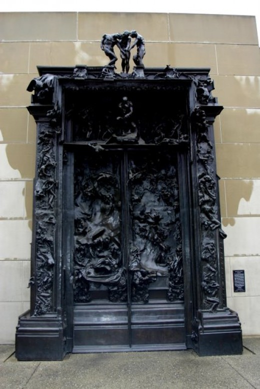 Rodin's Gates of Hell deedsphoto