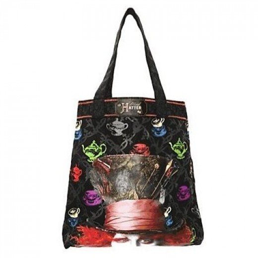 Alice in Wonderland Mad Hatter Bag