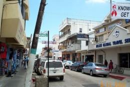 A nice shot of Belize City.