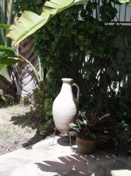 A Greek urn in a Thai Garden?