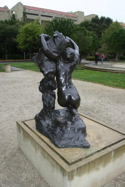 Rodin Sculpture, Leland Stanford Museum Garden