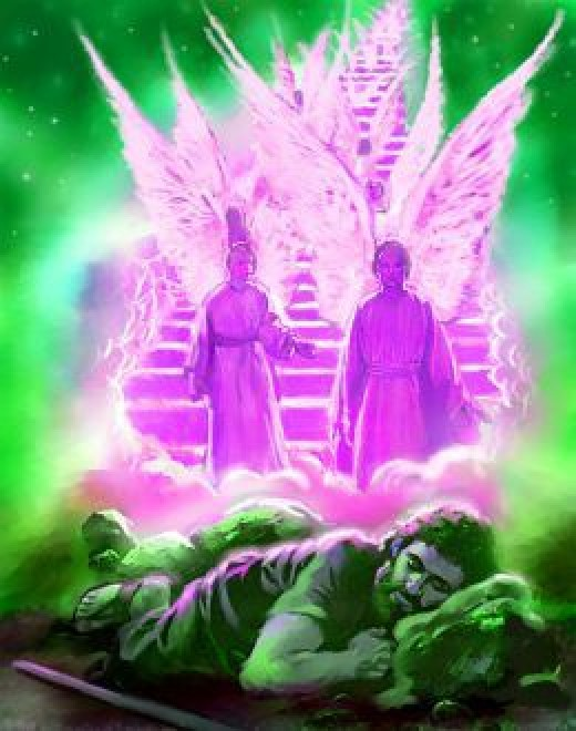 Angels of the realm of glory, you tell us about the eternal story, you tell us about the creator's glory, you tell us the wonders of God's creation. The angels are the main spiritual force of the universe after God.