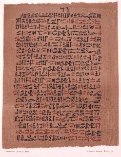 One of the oldest medical preserved documents