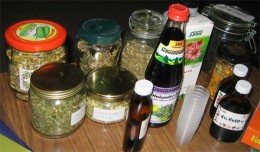 Herbal remedies are marketed as food supplements