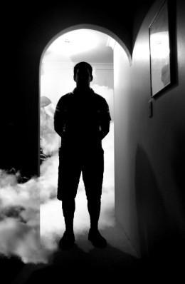 Spirits shrouded in fog