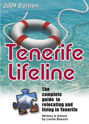 Tenerife Lifeline book cover