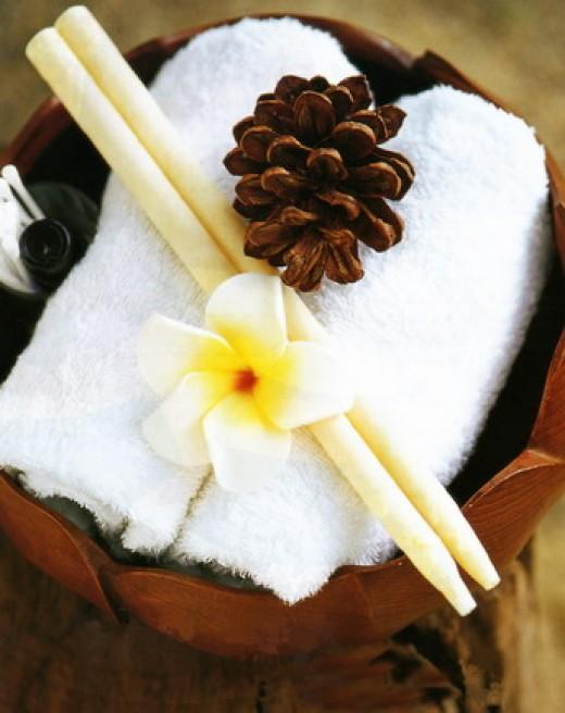 Ear candle aromatherapy www.bonabalispa.com