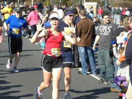 I credit the P90X Program in helping me complete my first marathon