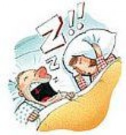 Snoring Can Lead to Divorce !!