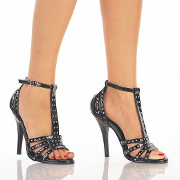 Black T-Strap Stilettos - photo credit: stormfront.com