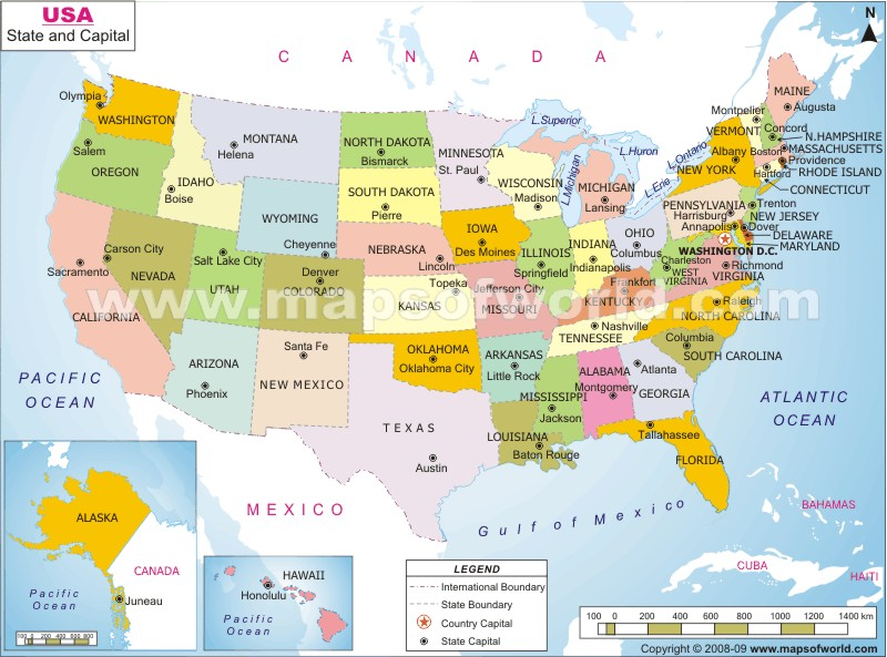 Map Usa Major Cities Ngemapservicedapartmentsco: Map Of Usa States With Major Cities At Slyspyder.com