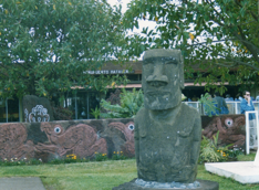Mataveri Airport in Easter Island, which is also Chilean territory.