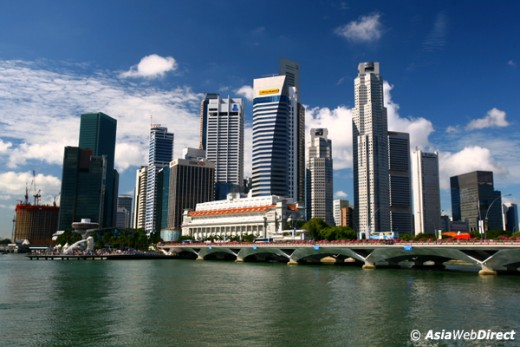 Singapore, an island city; also called Lion City