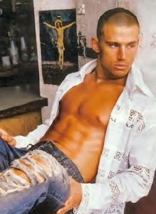 men shirtless