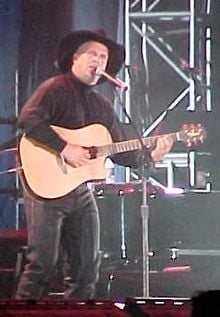 Garth Brooks, the No. 1 country singer