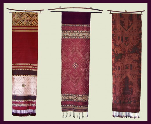Three Detailed Pieces by Master Weavers