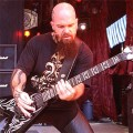 The meanest looking friendliest guitarist ever?  Kerry King from Slayer