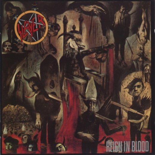 "Angel of Death as written, performed and released on Slayer's 1986 album ""Reign in Blood"""