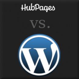 Hubpages vs. Wordpress