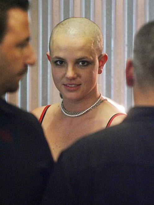 Britney Spears Bald