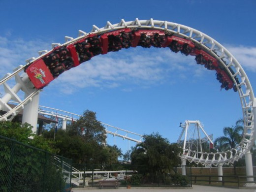 top Scariest roller coasters, dtcreations, morguefile.com