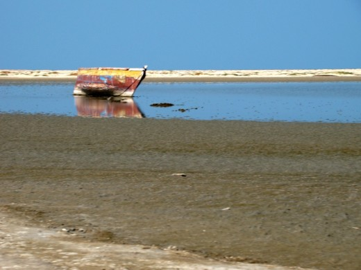 Waiting for the tide; at Dhanushkodi